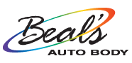 Beal's Auto Body Footer Logo